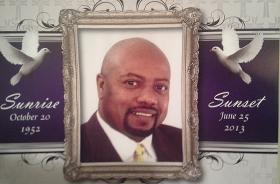 Funeral program for the Rev. John C. Raphael Jr. of the New Hope Baptist Church.