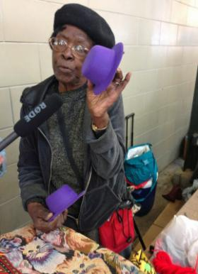 Mable Howard is the second-longest seller at the Market.