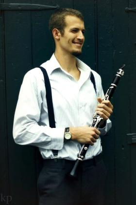 Clarinetist Gregory Agid.
