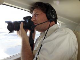 Scott Eustis, coastal wetlands specialist for the Gulf Restoration Network.