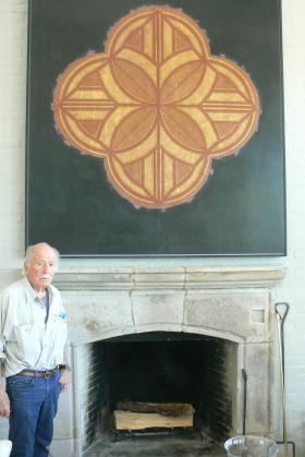 Artist George Dunbar still follows his muse at 86 years young.