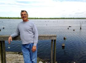 George Barisich, a third generation commercial fisherman from St. Bernard Parish.
