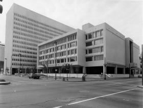 Archive photo of the Hale Boggs Federal Courthouse in New Orleans.