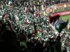 Mexico vs France at the 2010 World Cup in South Africa