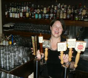 Although Polly Watts has only focused on the American craft beer scene for a handful of years, you can find some the rarest beers in the world at her bar, the Avenue Pub.
