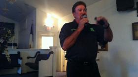Captain George Ricks of the Save Louisiana Coalition.