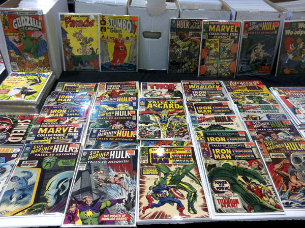 There are tens of thousands of comic books for sale at New Orleans Comic Con. Photo by Jason Saul.