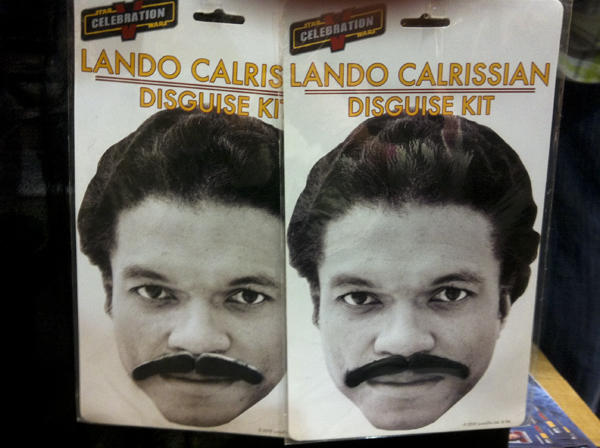 Lando Calrissian disguise kit. Photo by Jason Saul.