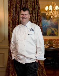 Matt Murphy, chef and namesake for the Ritz-Carlton's new M Bistro.