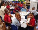 Children enrolled in one of Louisiana's pre-k development programs.