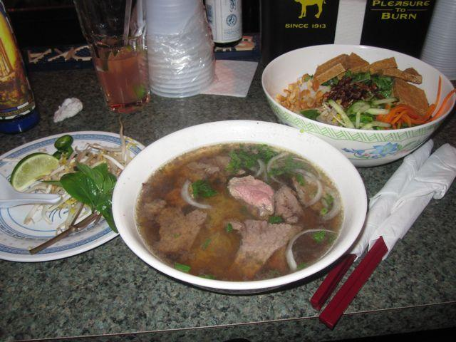The beef noodle soup pho and other Vietnamese standards are cropping up around town.