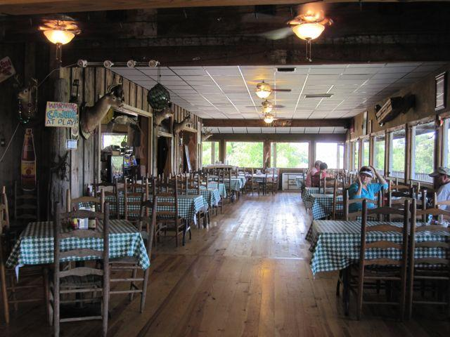 The Cajun restaurant at Magee's Landing in Henderson.