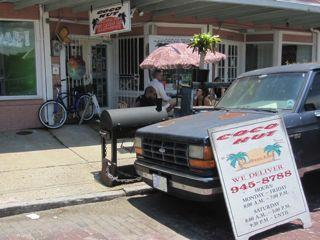Coco Hut, a casual joint on Bayou Road serving some seriously spicy jerk.