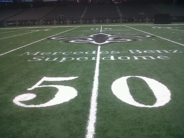 Mercedes-Benz is already at the 50-yard line.