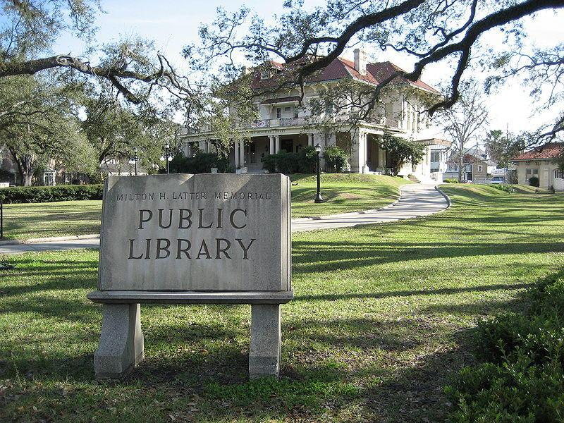 The Latter Library in Uptown New Orleans.