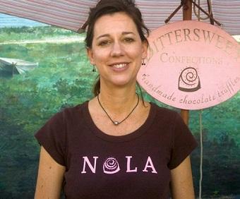 Chocolatier Cheryl Scripter.