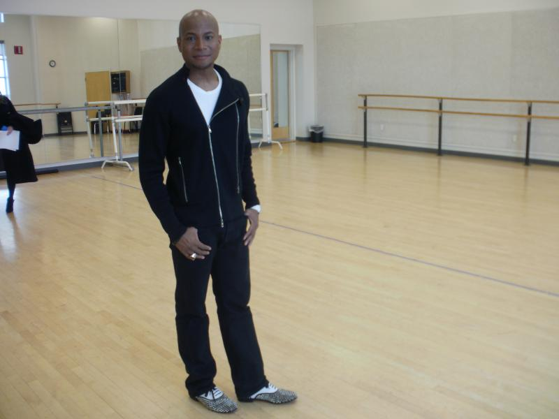 Choreographer Travis Payne stopped by NOCCA to teach students some Michael Jackson steps. Payne collaborated with Jackson and joined him on two world tours.