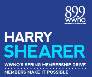 A special message from comedian and public radio host Harry Shearer. Support WWNO's great local and national programming!