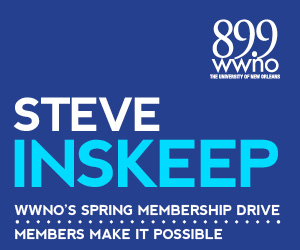 A special message from Morning Edition host Steve Inskeep, urging you to support WWNO's great local and national programming!