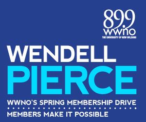 A special message from Tremé actor and native New Orleanian Wendell Pierce, urging you to support WWNO's great local and national programming!