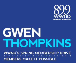 A special message from journalist and writer Gwen Thompkins, urging you to support WWNO's great local and national programming!