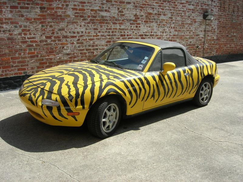 The Zehnomobile! Bid on this extraordinary Miata, courtesy of New Orleans' own Zehno Communications, and help support WWNO.