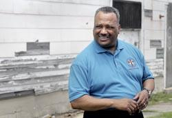 The Rev. Fred Luter of the Franklin Avenue Baptist Church