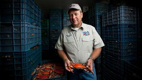 Gary Bauer, owner of Pontchartrain Blue Crab