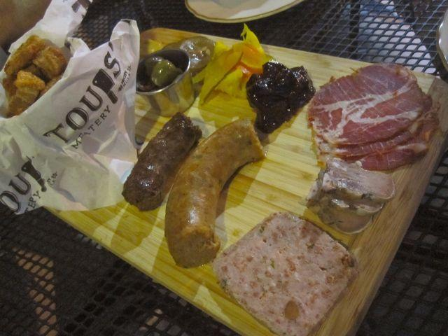 Cajun charcuterie is a specialty at Toups' Meatery.