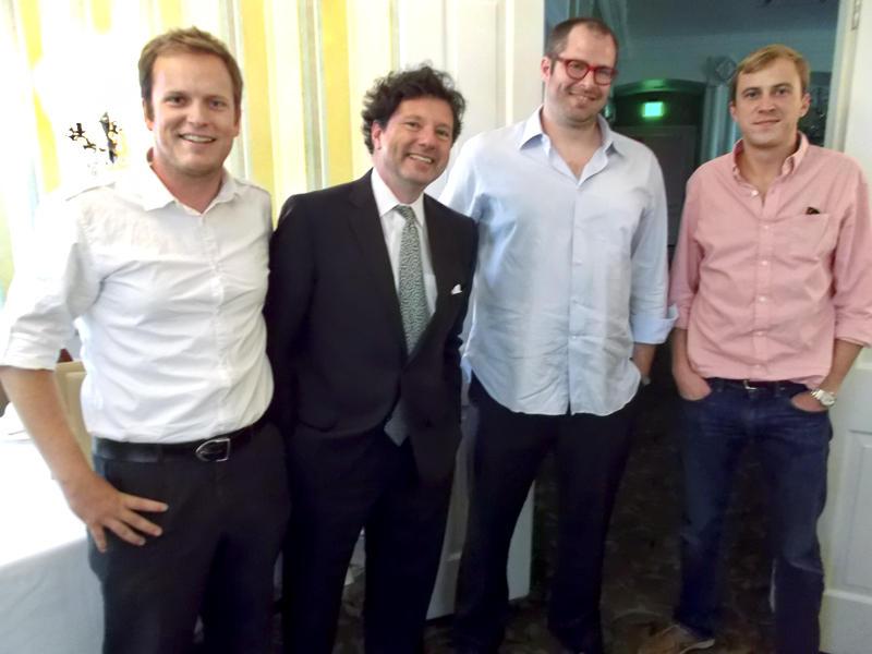 Robert Fogarty, Peter Ricchiuti, Blake Haney and Pike Barkerding.