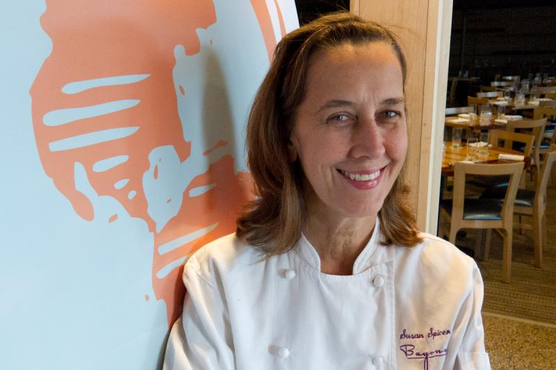 Chef Susan Spicer of New Orleans' Bayona restaurant.