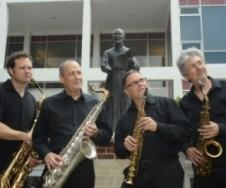 Ignatius Faculty Sax Quartet.