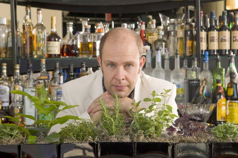 Adam Seger has helped innovate the American bar scene by showcasing fresh ingredients in many of his cocktails.