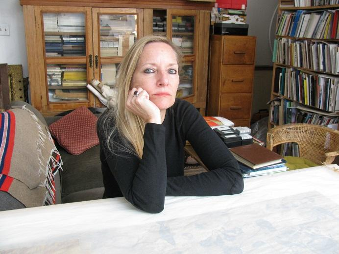 Jacqueline Bishop in her studio. October 28, 2012