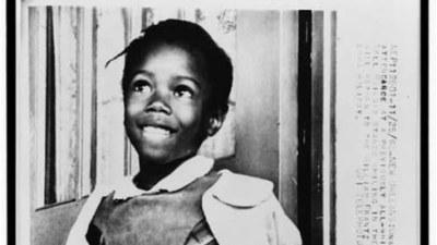 6-year-old Ruby Bridges in 1960.