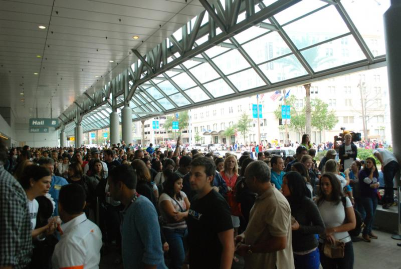 Thousands of Venezuelan citizens from throughout the South voted in their presidential election at the Convention Center in New Orleans last October.