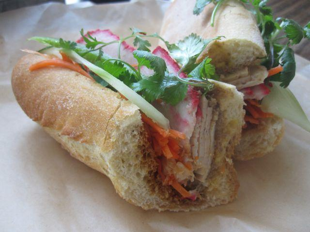 Banh mi on baguette at Magasin Café.