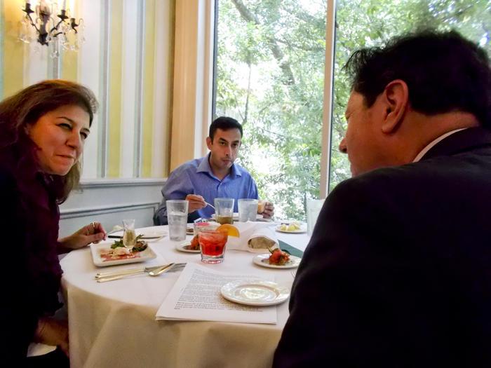 Tamara Kreinin, S K Khurana and Peter Ricchiuti.