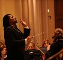 Christmas at Loyola showcases several Loyola ensembles, including the Loyola Chamber Orchestra directed by Jean Montes.