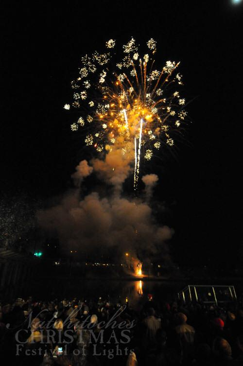 Fireworks, southern hospitality, and even snow are all a part of Natchitoches' Festival of Lights celebration.