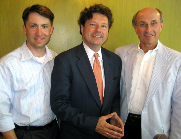 Peter Ragusa, Peter Ricchuiti and Joe Lovett.