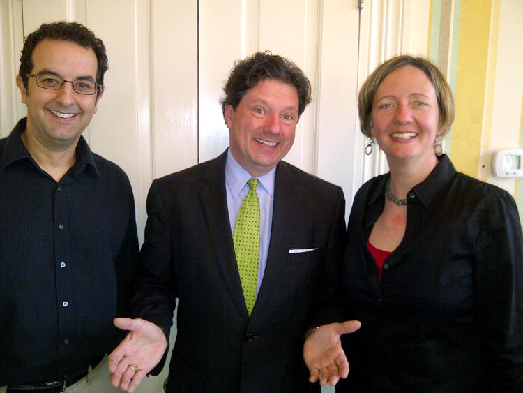 Rick Delaup, Peter Ricchiuti and Anne Rolfes.