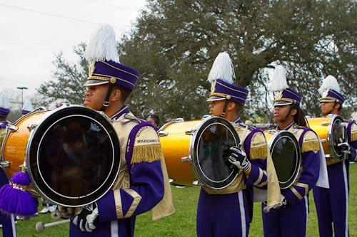 Warren Easton's bass drums