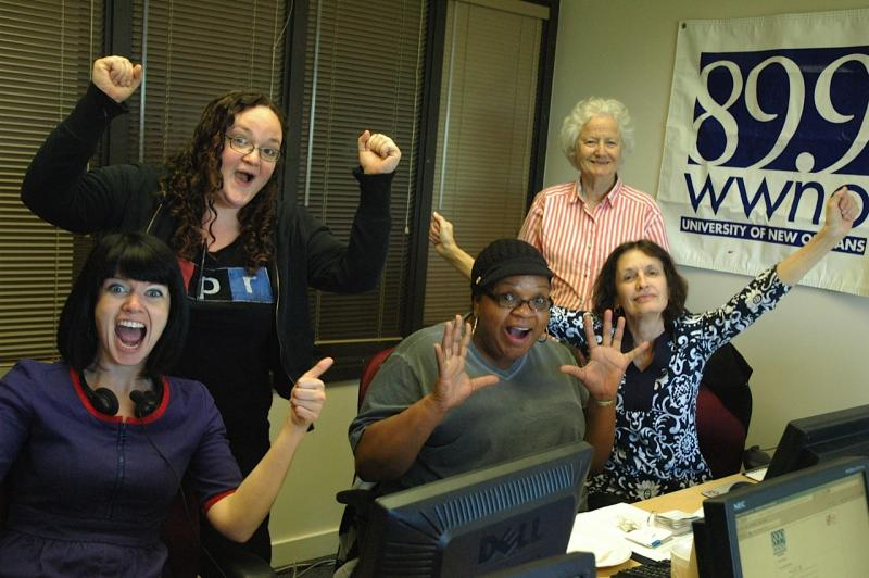 You can have this much fun, too! Volunteer at WWNO.