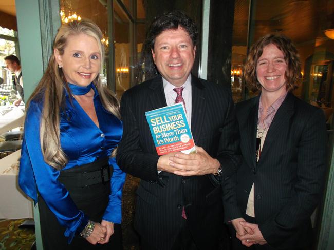 Michelle Seiler Tucker, Peter Ricchiuti and Tracey Moore.