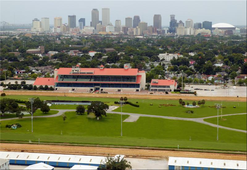 The Fair Grounds infield will host the Infield Derby Festival ahead of Jazz Fest.