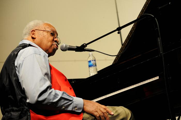 Ellis Marsalis, from a 2010 performance at Tulane University.