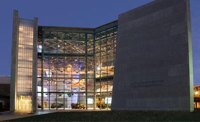 The National WWII Museum's US Freedom Pavilion.