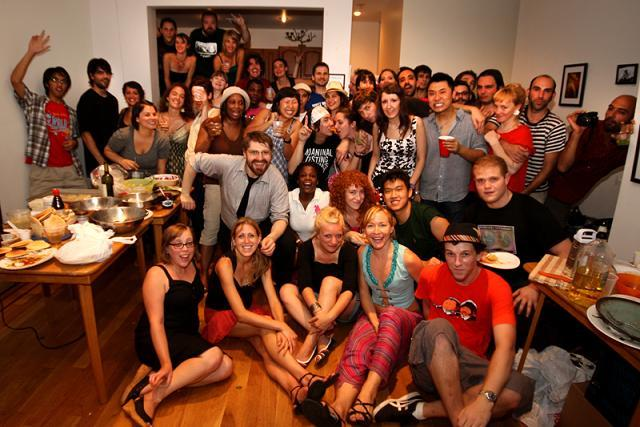 Working in tandem with The MASH tour, Chaos Cooking events encourage spontaneity and collaboration at pop-up house parties.