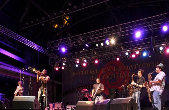 Trombone Shorty and Orleans Ave. closed out Thursday night.